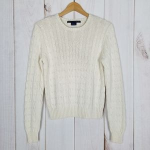 Ralph Lauren Sport | Ivory Cable Knit Sweater